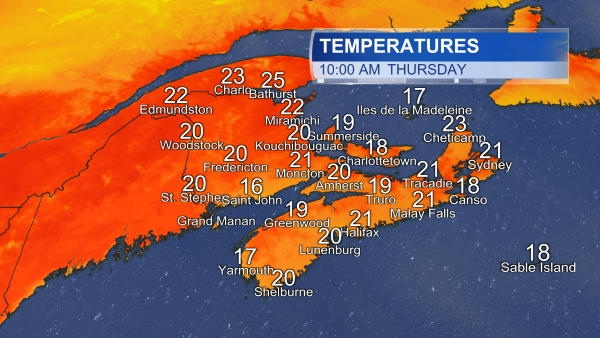CTV Atlantic | Weather - Atlantic Weather Forecast